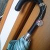 傘の修繕と傘マーカーとバスケット