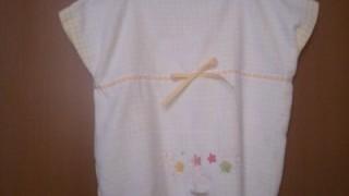 タオルのベビー服