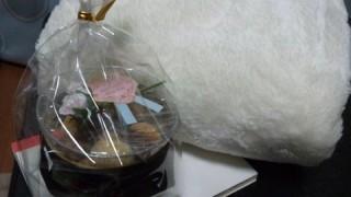 バレンタインに枕カバープレゼントした